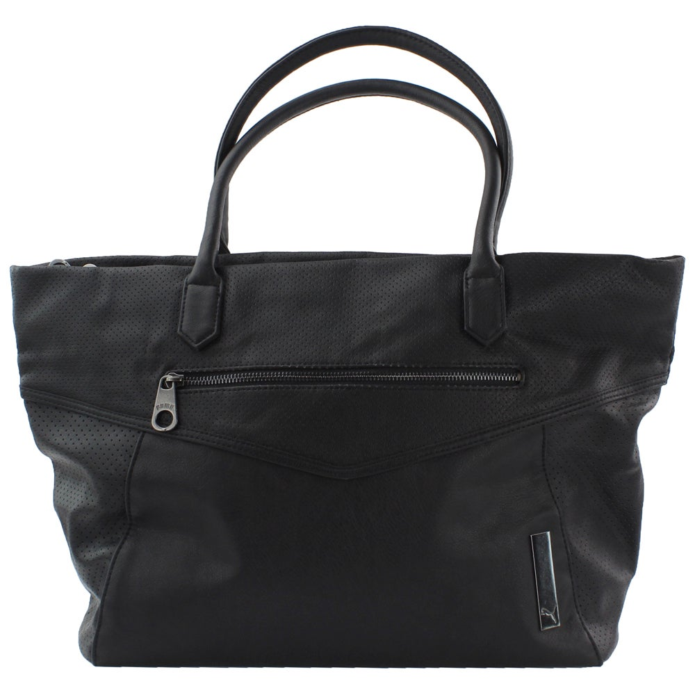 a6d4b6090 Puma Hazard Tote Bag Black - Womens - Size OSFA 887707206597 | eBay