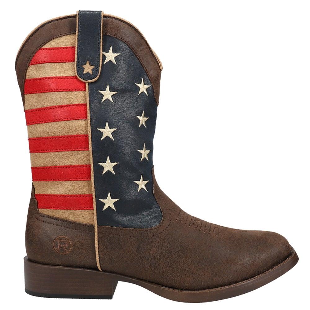 Western boots cowboy boots men Cameltobacco Bicolor Size 43 OK