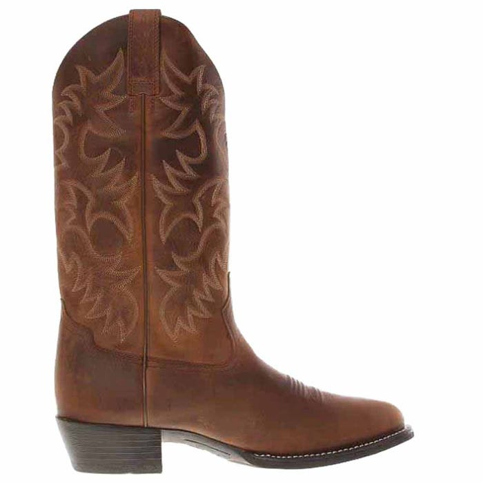 Heritage Round Toe Western Boot