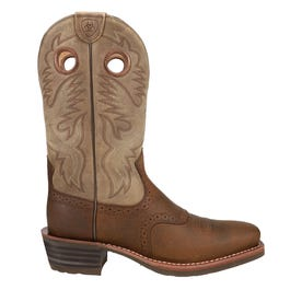 Heritage Roughstock Square Toe Western Boot