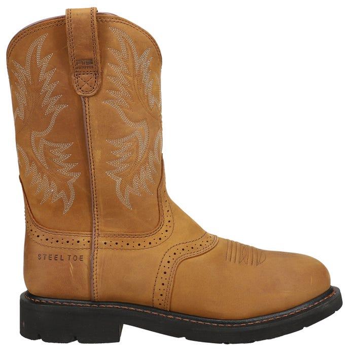 Sierra Saddle Steel Toe Work Boot