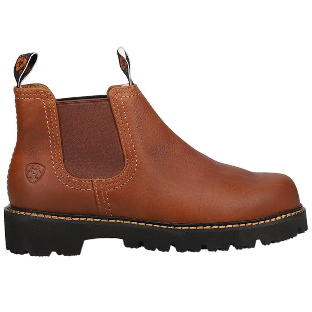 Ariat Spot Hog Boots Brown Mens Chelsea