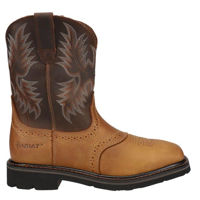 Sierra Square Toe Work Boot