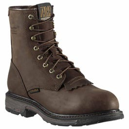 WorkHog 8 Inch Waterproof Composite Toe Work Boot