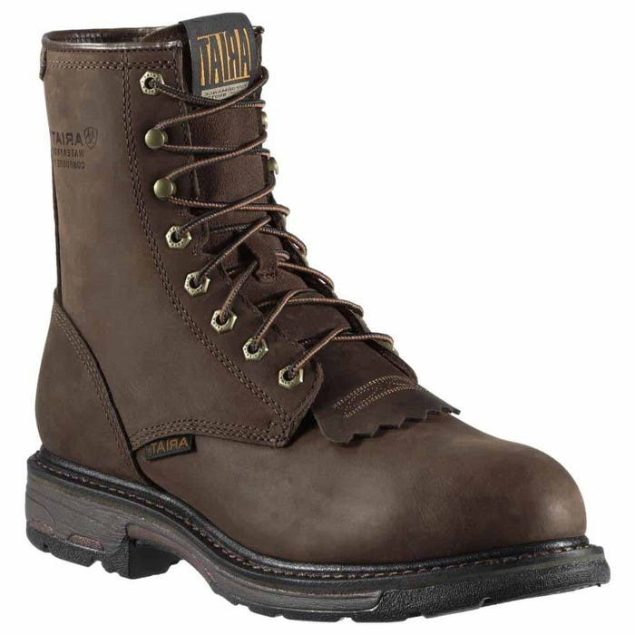 WorkHog 8 Inch Waterproof Composite Toe Work Boot