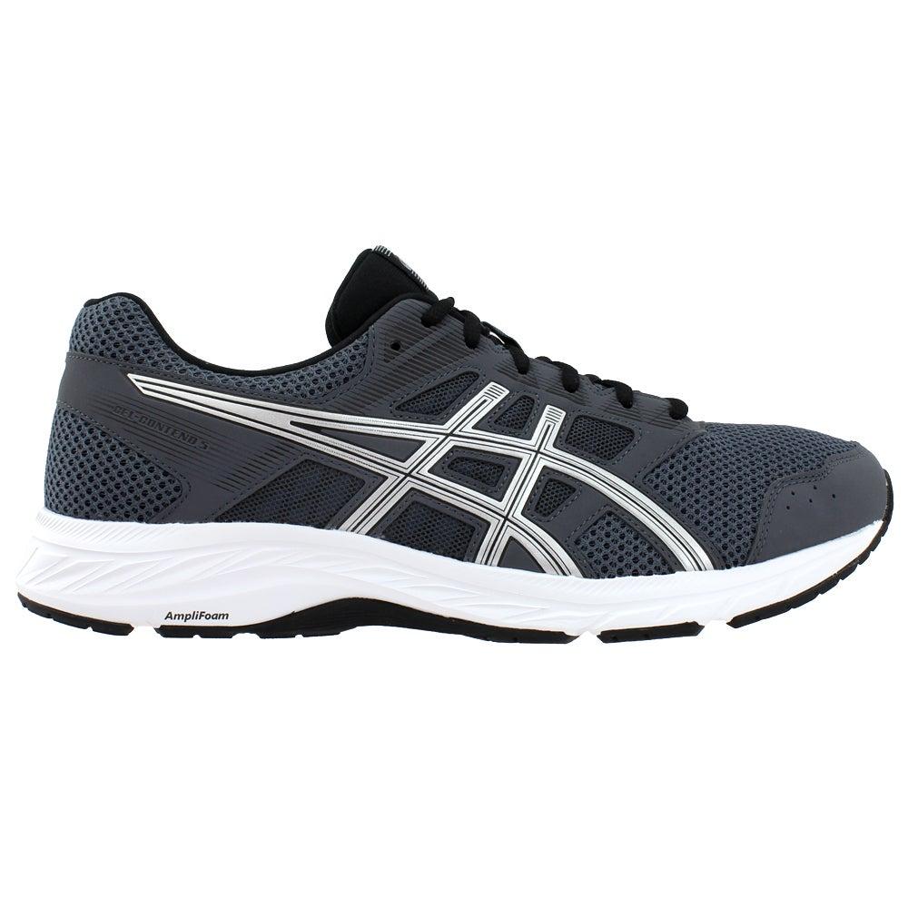 Distribución latitud interno  ASICS Gel-Contend 4 Running Shoes Grey Mens Lace Up Athletic