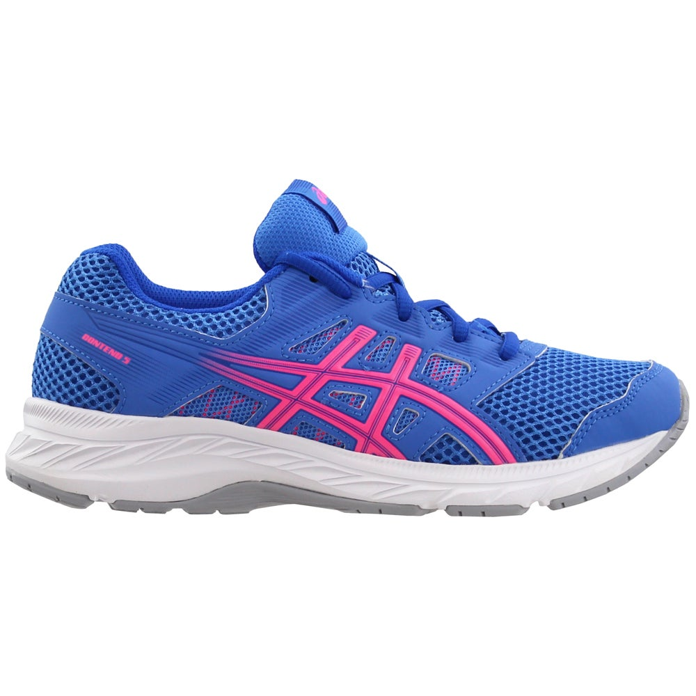 Small ASICS Rally Crew Airforce Blue//Safety Yellow