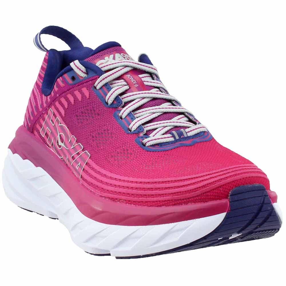 Hoka One One Bondi 6 Pink Womens Athletic