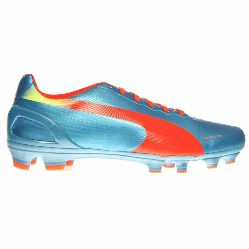 2ba1271945137 Puma evoSPEED 3.2 FG Blue Soccer Shoes and free shipping on orders ...