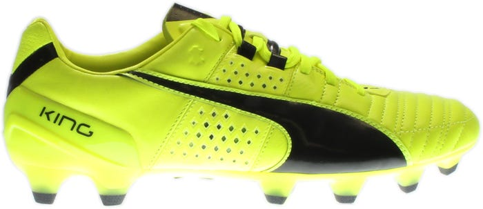 369d5c6f2e0 Puma King II FG Yellow Soccer Shoes and get free shipping on orders ...