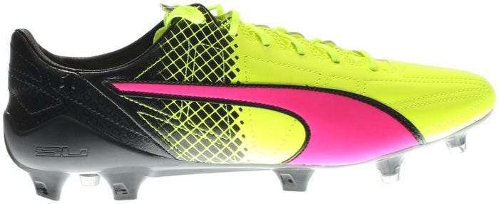 2da79a173 Puma evoSPEED SL II Leather FG Black and get free shipping on orders more  than  75