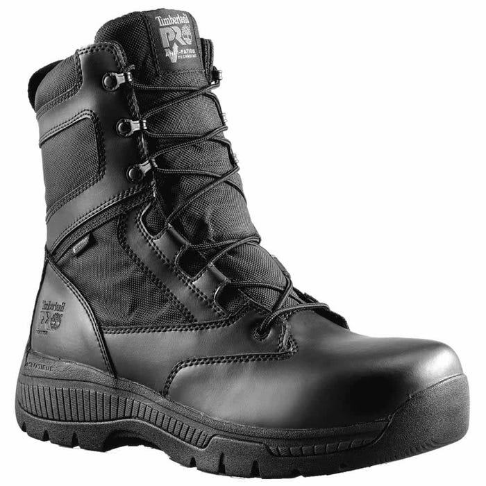 Valor 8 Inch Side-Zip Soft Toe Work Boots