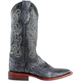 Embossed Cross Boots