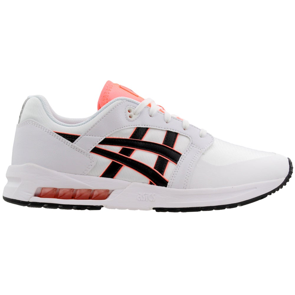 ASICS Gel Saga SOU Mens Black & White Trainers Lace Up