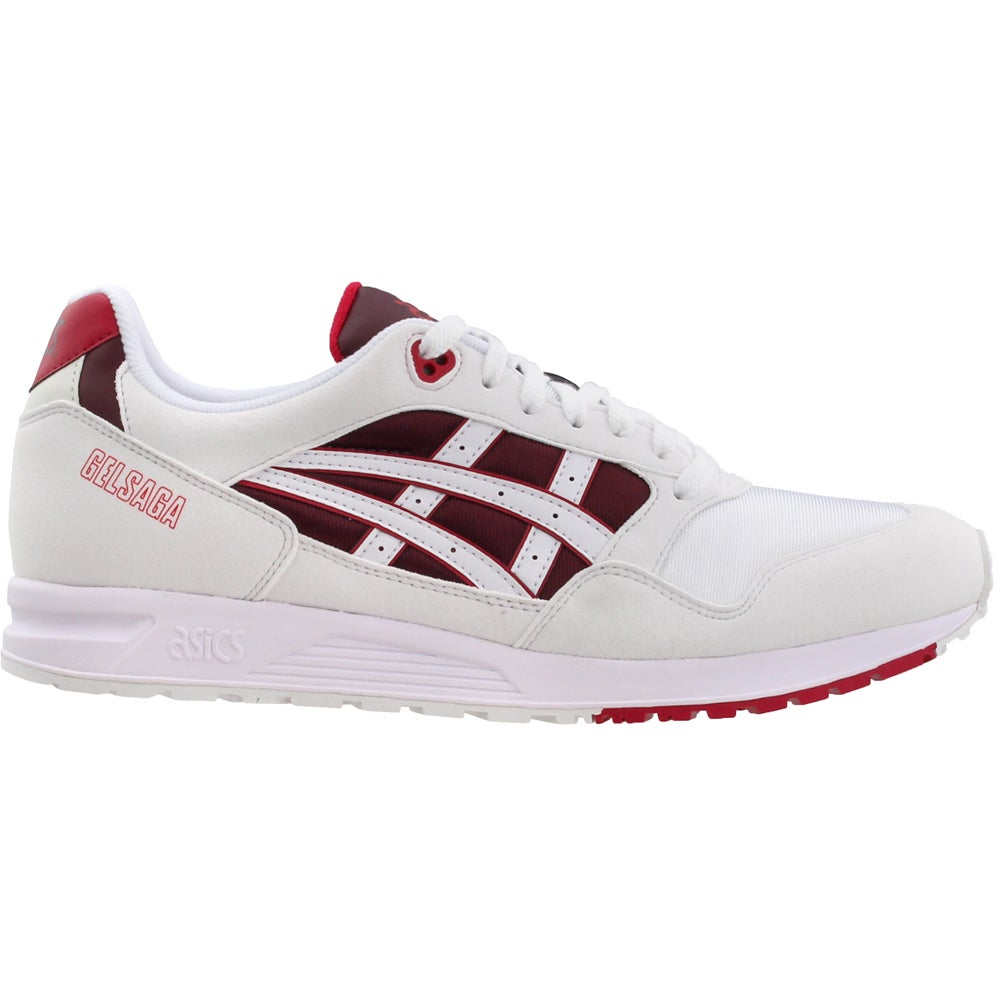 buy popular 92b30 2ad3d Details about ASICS Gel-Saga - White - Mens