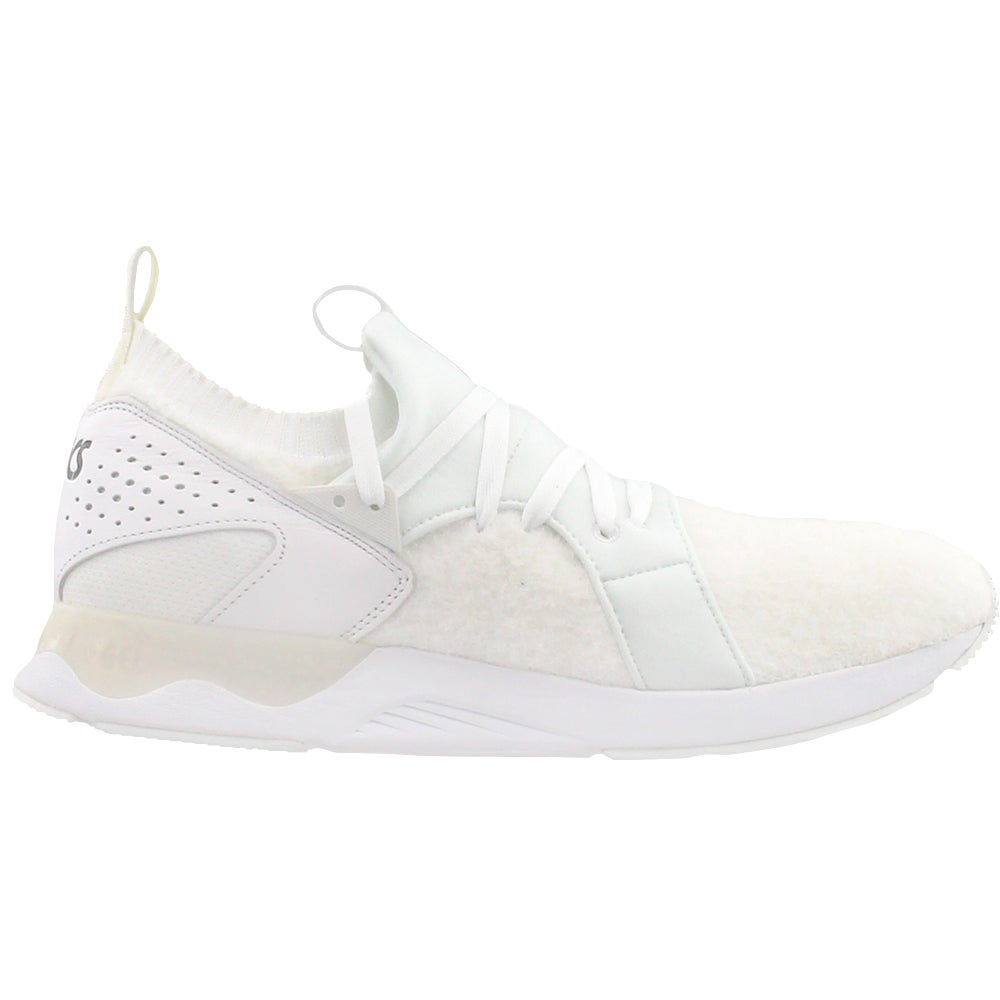 new product 1c469 82dd7 Details about ASICS Gel-Lyte V Sanze Knit Athletic Shoes - White - Mens