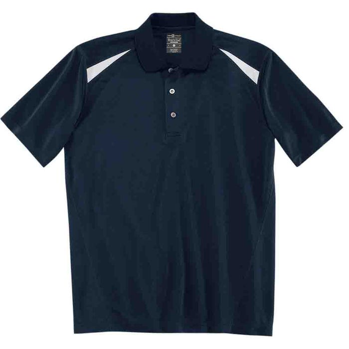 River's End Color Block Polo