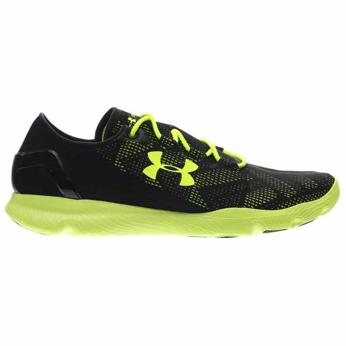 finest selection 03daf 803a1 Under Armour SpeedForm Apollo Vent Black Running Shoes and ...