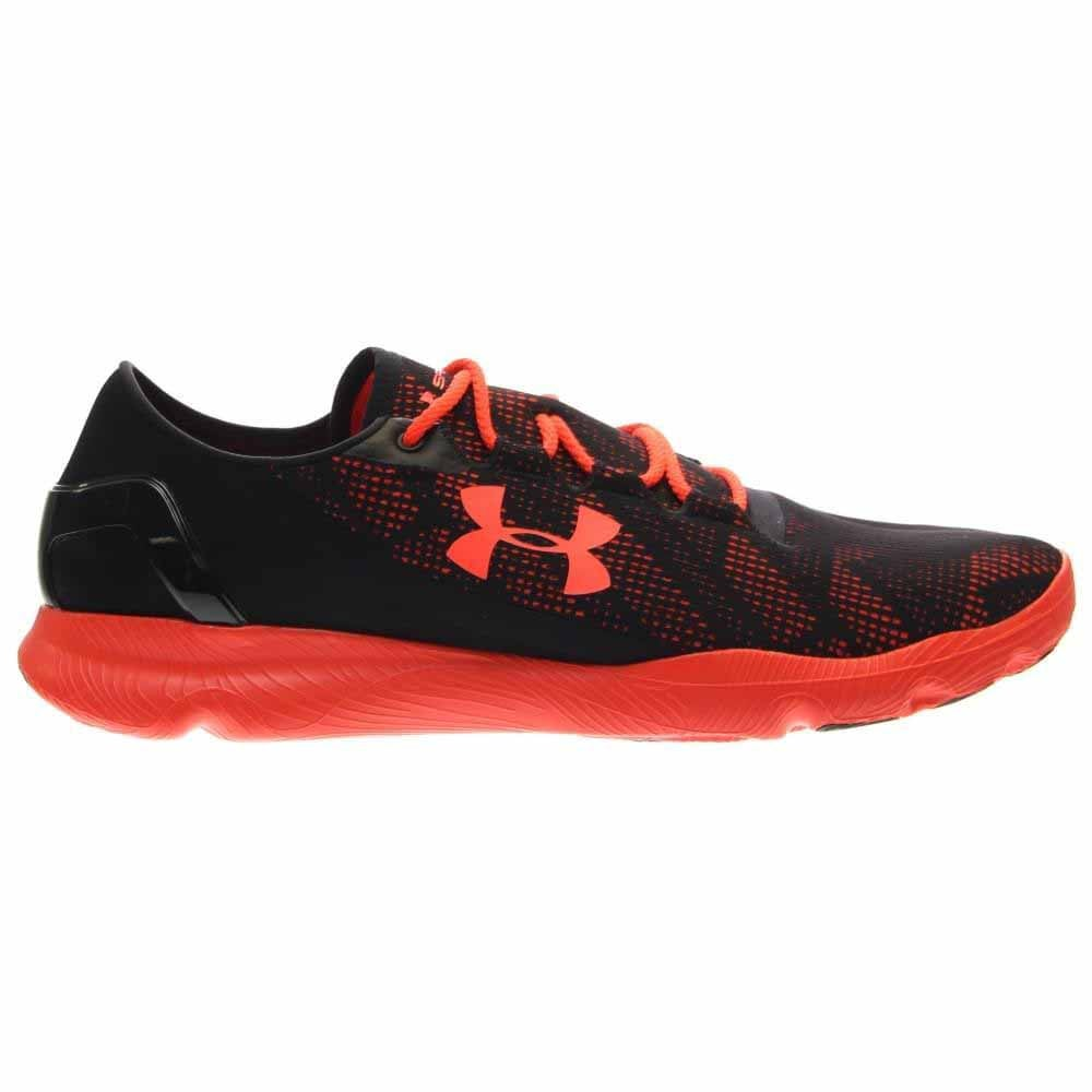 Under Armour SpeedForm Apollo Vent Black;Orange - Mens  - Size