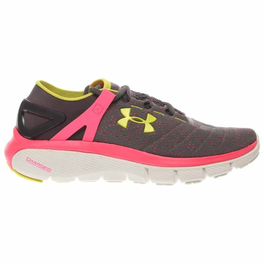 Under Armour Speedform Fortis Grey - Womens - Size