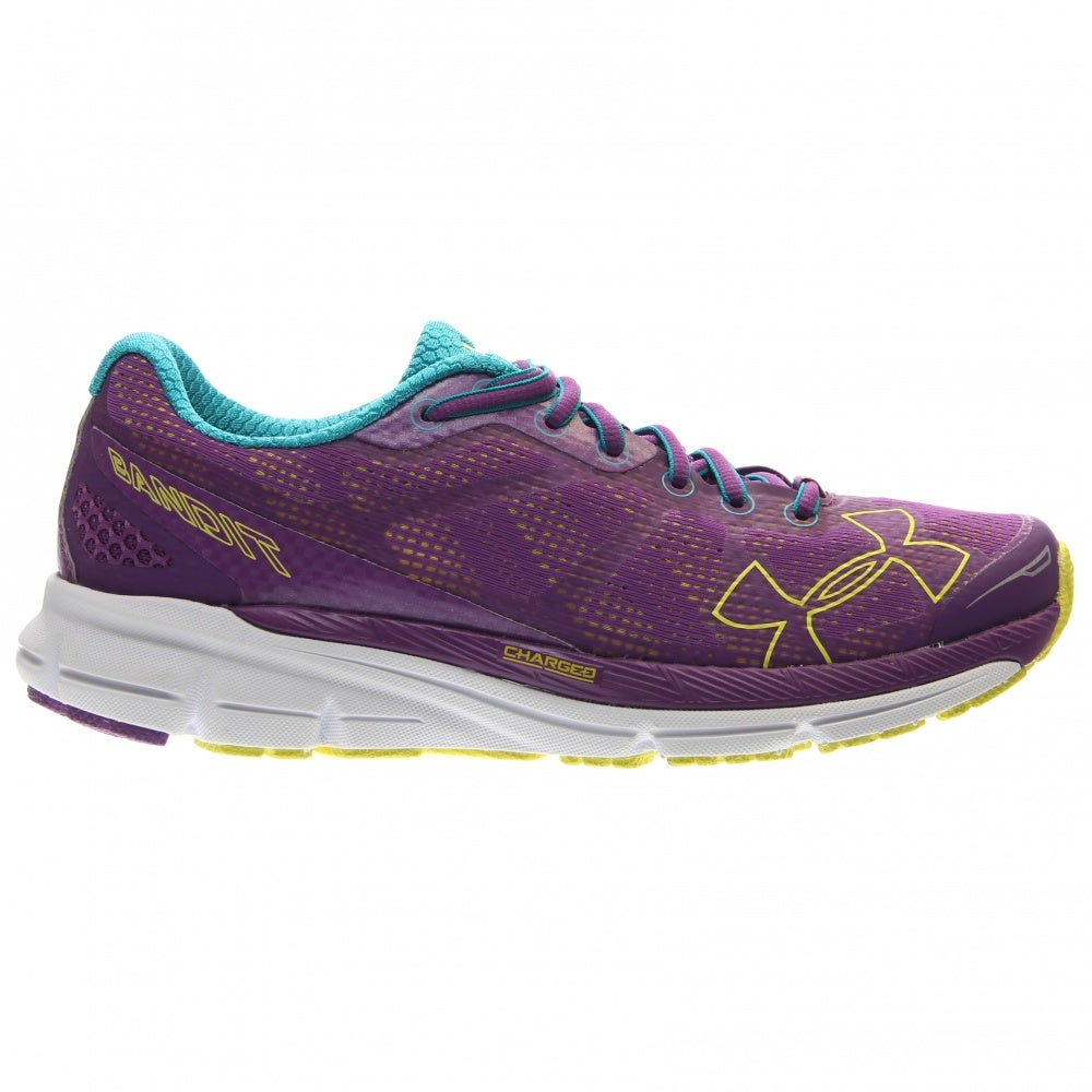 Under Armour Charged Bandit Purple - Womens  - Size