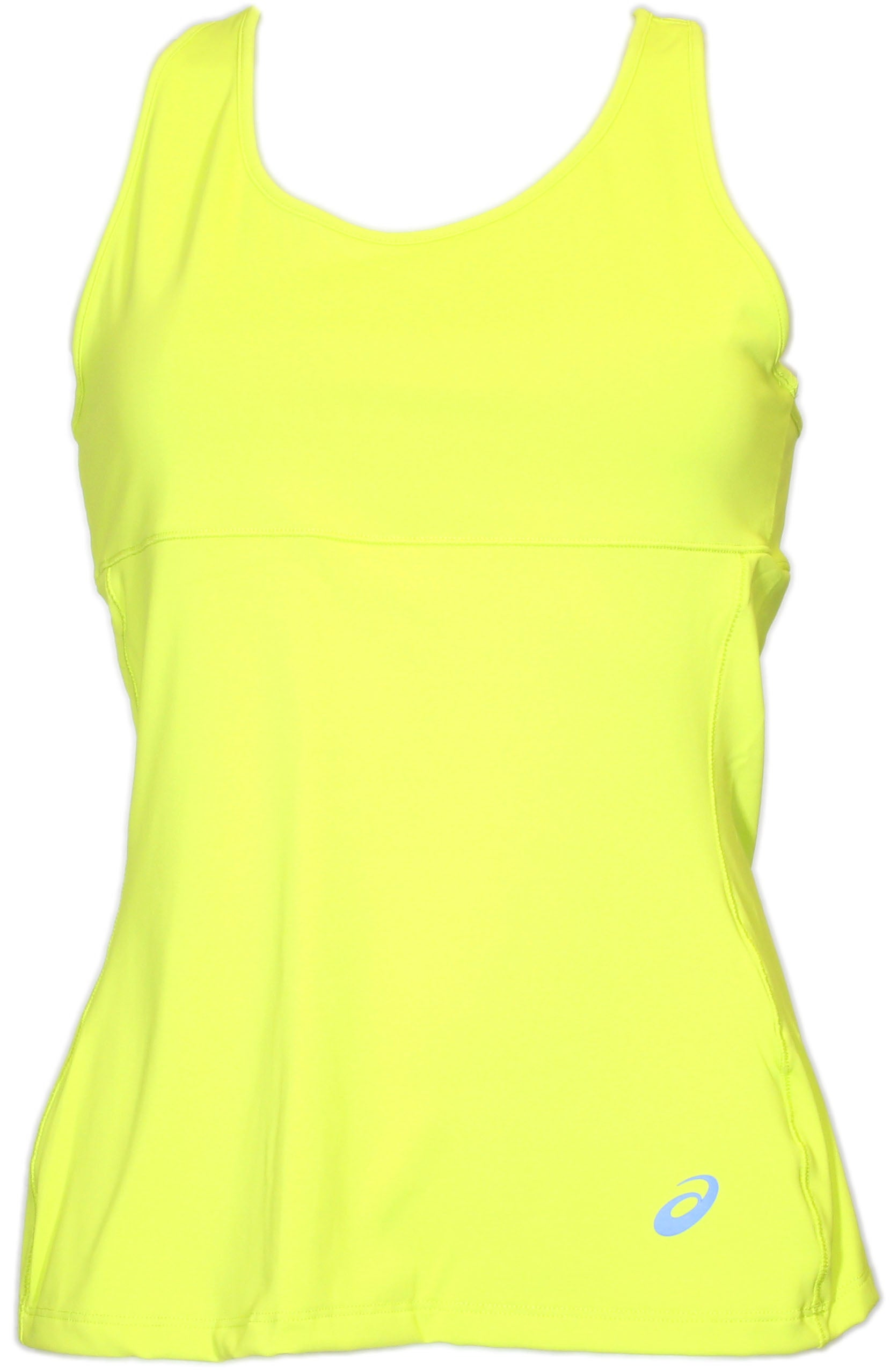ASICS Racerback Top Yellow - Womens  - Size Xl