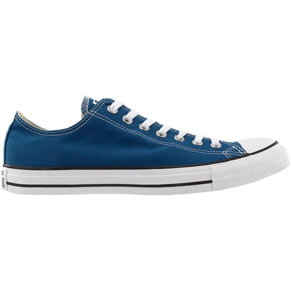 64c0fb3c642 Details about Converse Chuck Taylor All Star Seasonal Low Top Sneakers Blue  - Mens