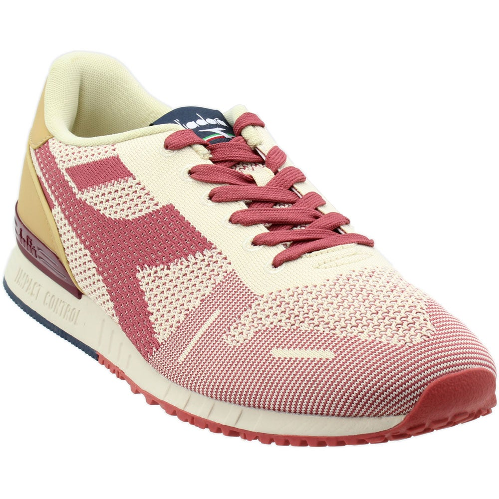 Diadora Titan Weave Sneakers Casual Mens Red
