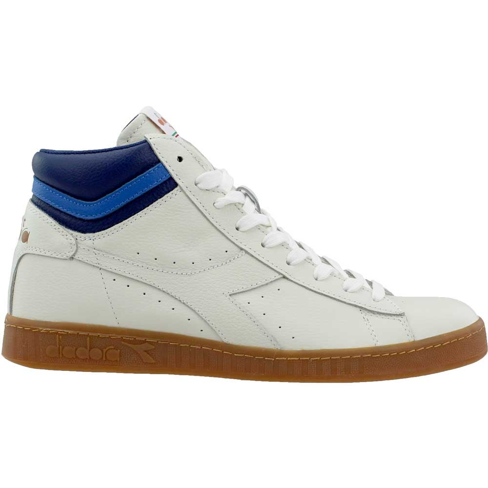 Diadora Game L High Tennis Shoes White Mens Ebay