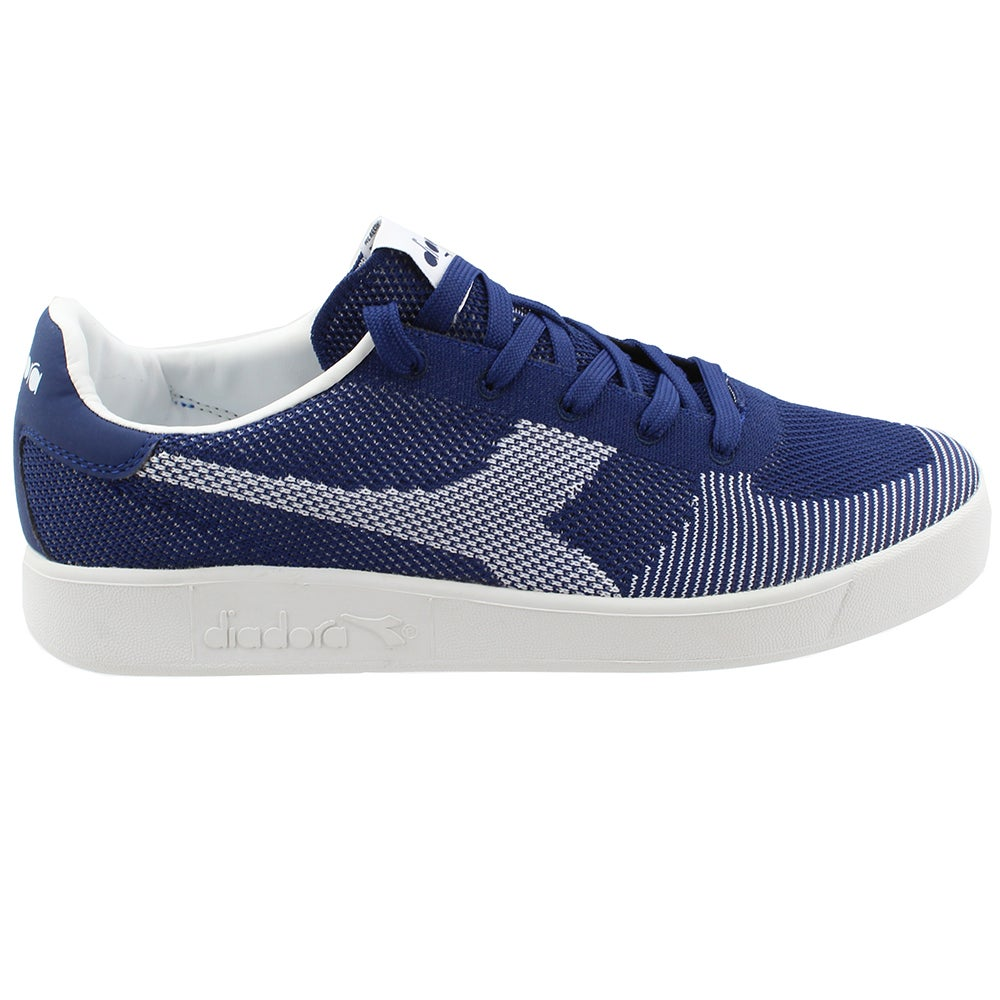 White Mens Diadora B.ELITE SUEDE Sneakers Casual