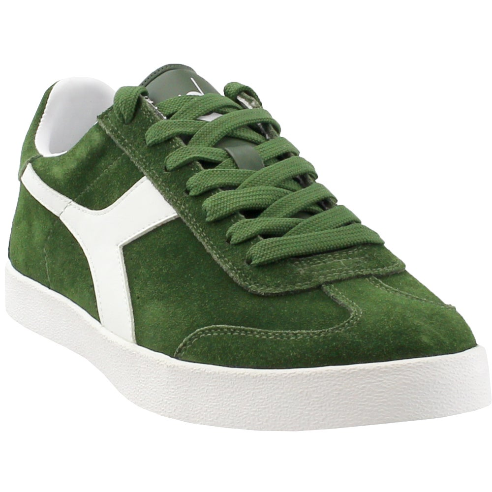 Diadora Pitch Green Mens Lace Up Sneakers