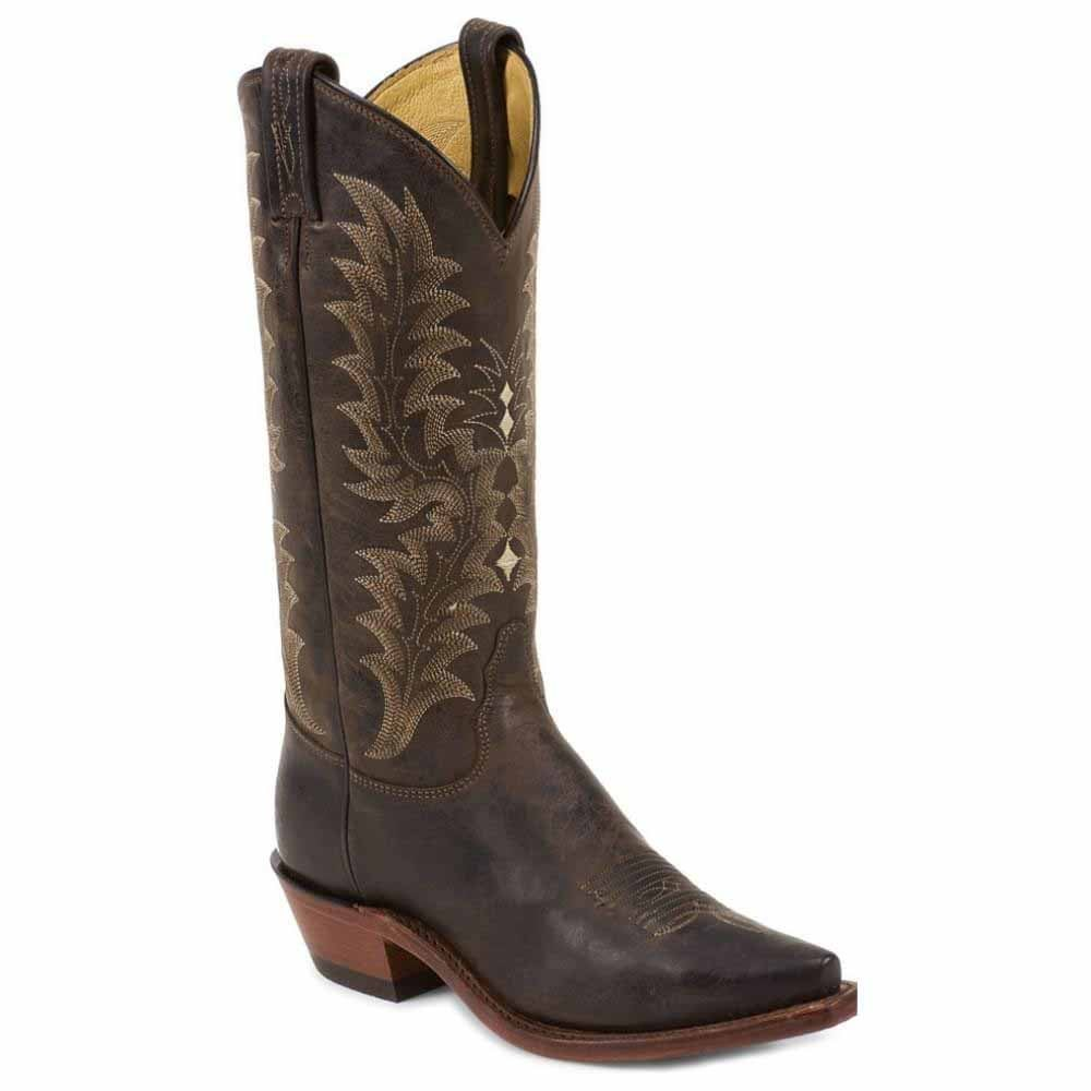 Image of Chocolate Saigets Worn Goat - Brown - Womens
