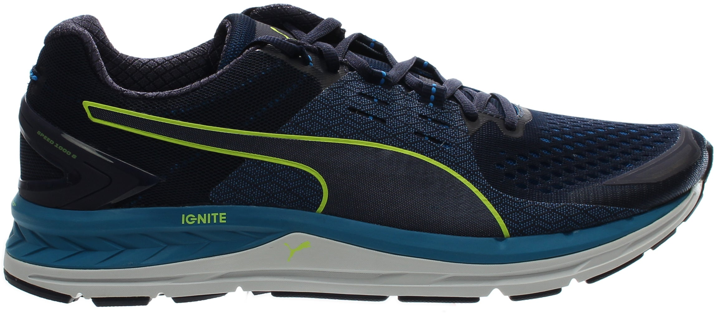 Puma Speed 1000 S IGNITE Running Shoes Blue - Mens  - Size