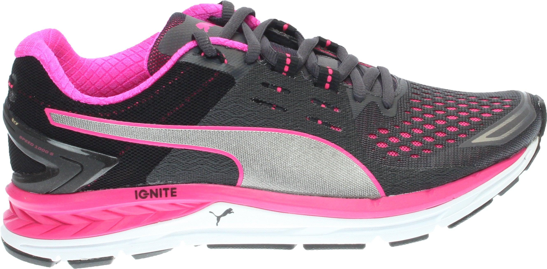 Puma Speed 1000 S Ignite W Black;Pink - Womens  - Size 10.5