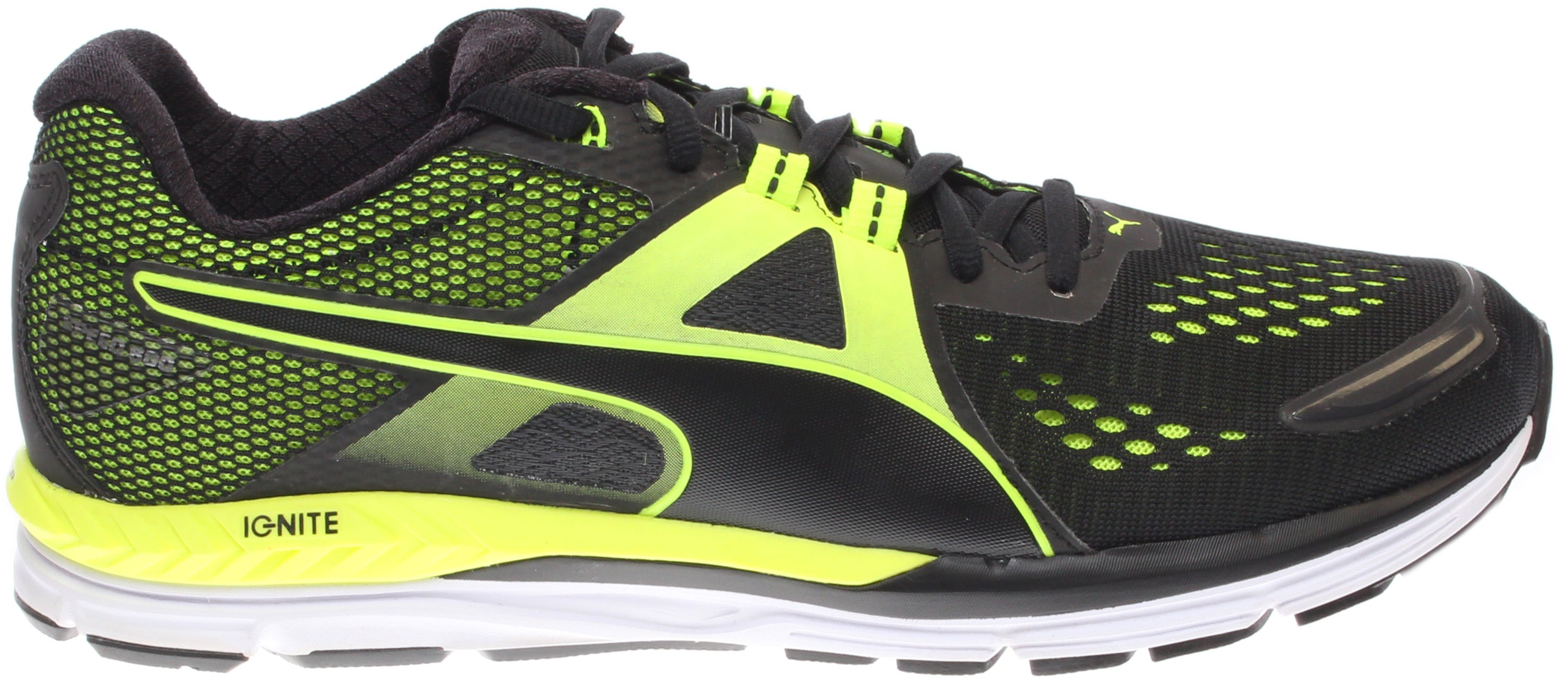 Puma Speed 600 IGNITE Men's Running Shoes Black - Mens  - Size 8