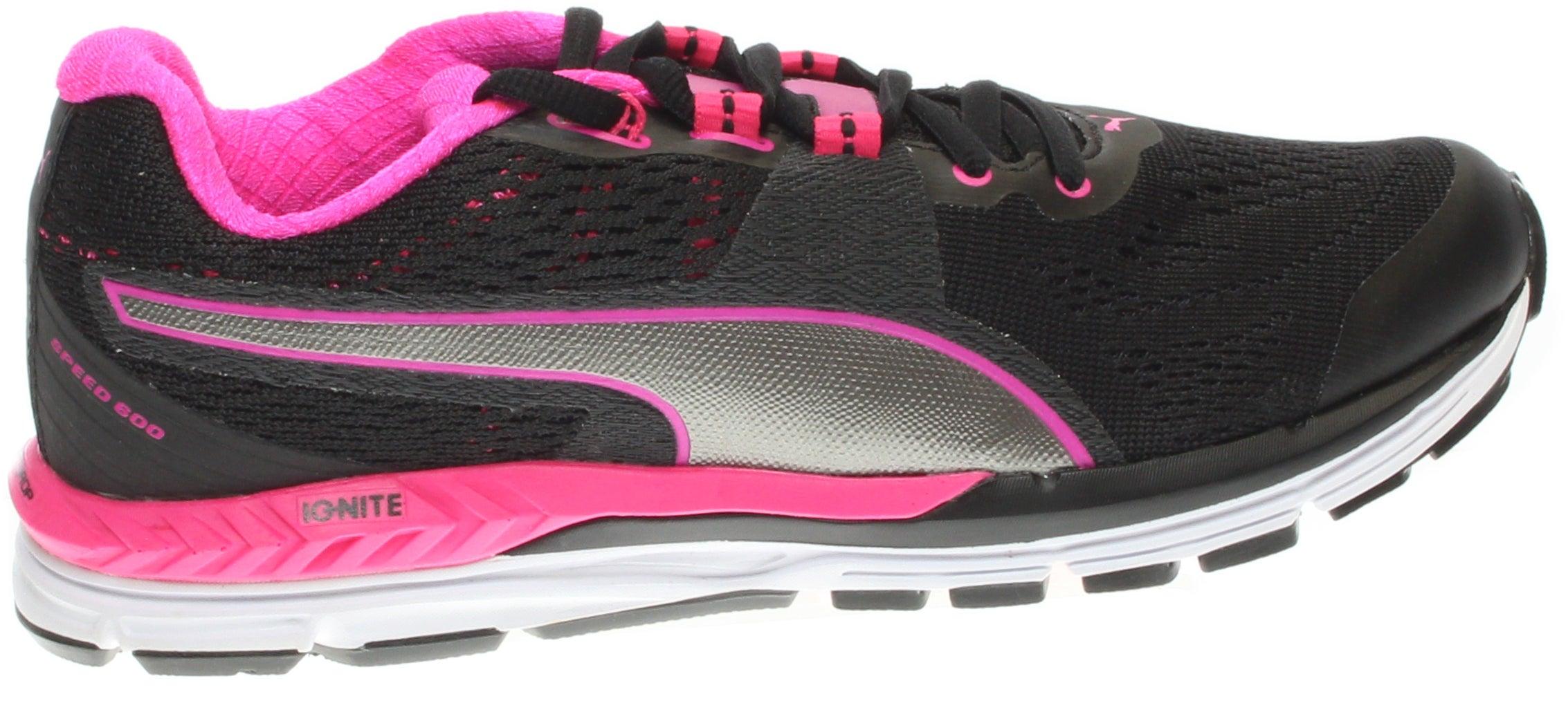 Puma Speed 600 IGNITE Women's Running Shoes Black - Womens  - Size 9