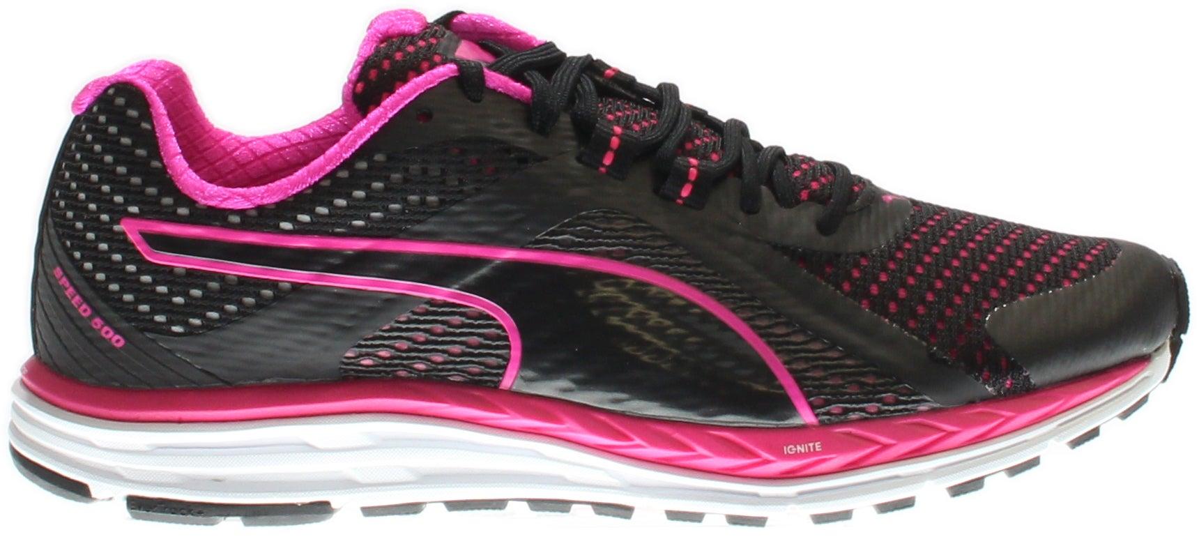 Puma Speed 500 IGNITE Women's Running Shoes Black - Womens  - Size 10.5