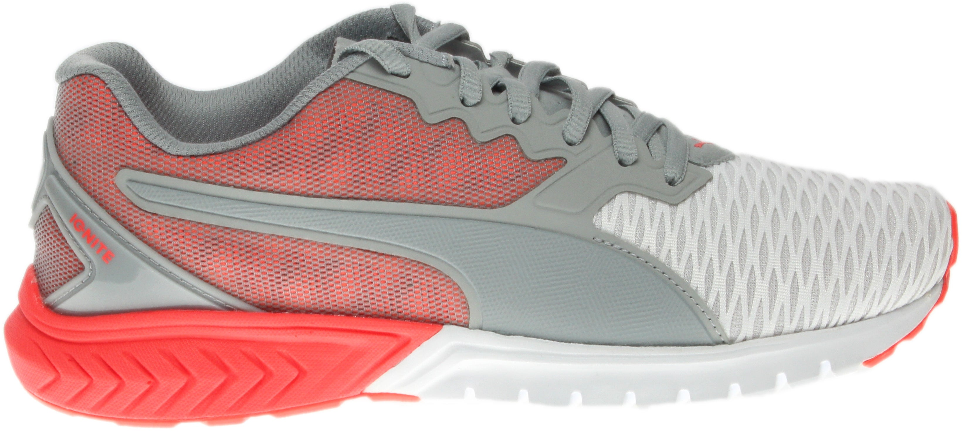 Puma Ignite Dual W Grey - Womens  - Size