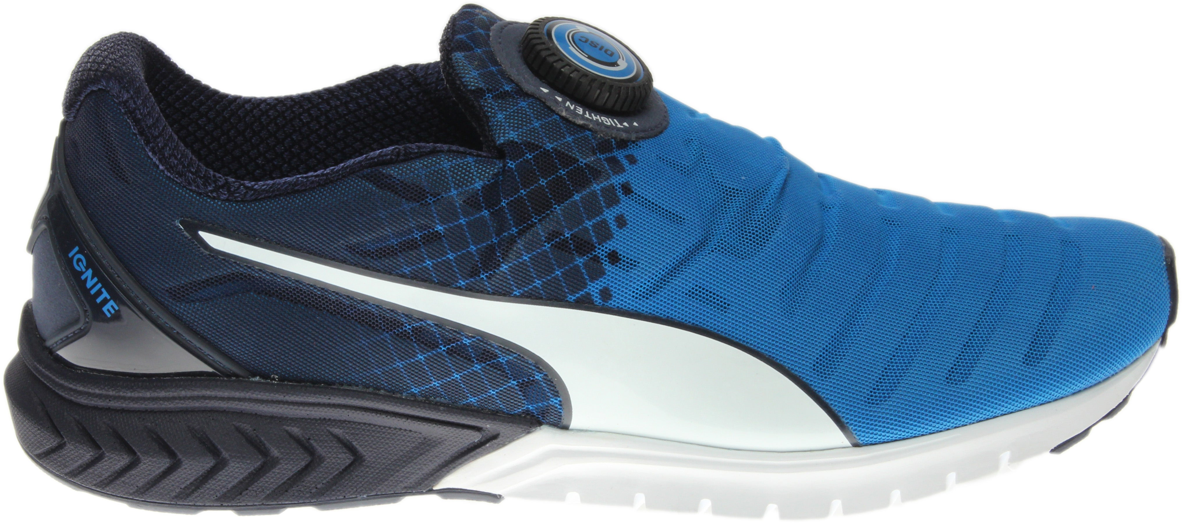 Puma Ignite Dual Disc Blue - Mens  - Size