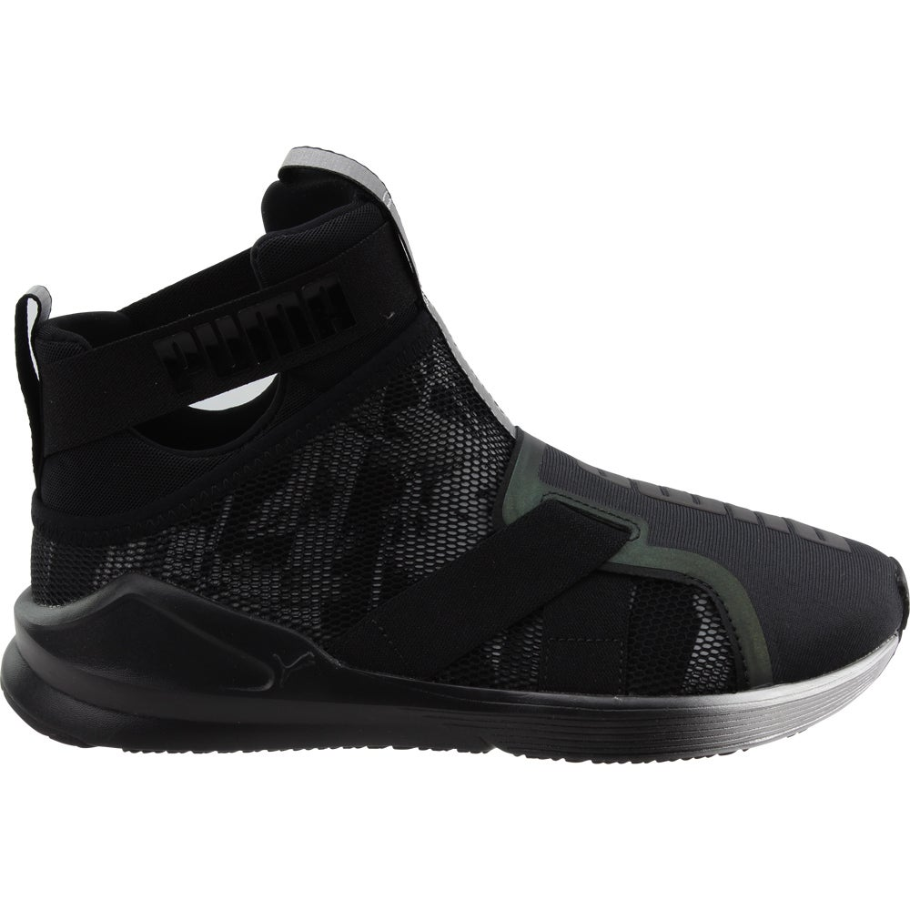 ce288bf2c85 Details about Puma Fierce Strap Swan Sneakers - Black - Womens