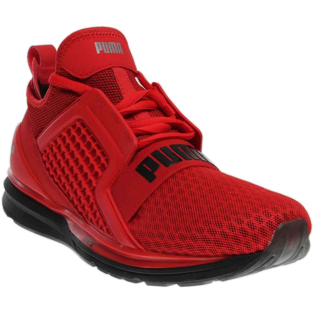 Puma Ignite Limitless Red Mens Athletic
