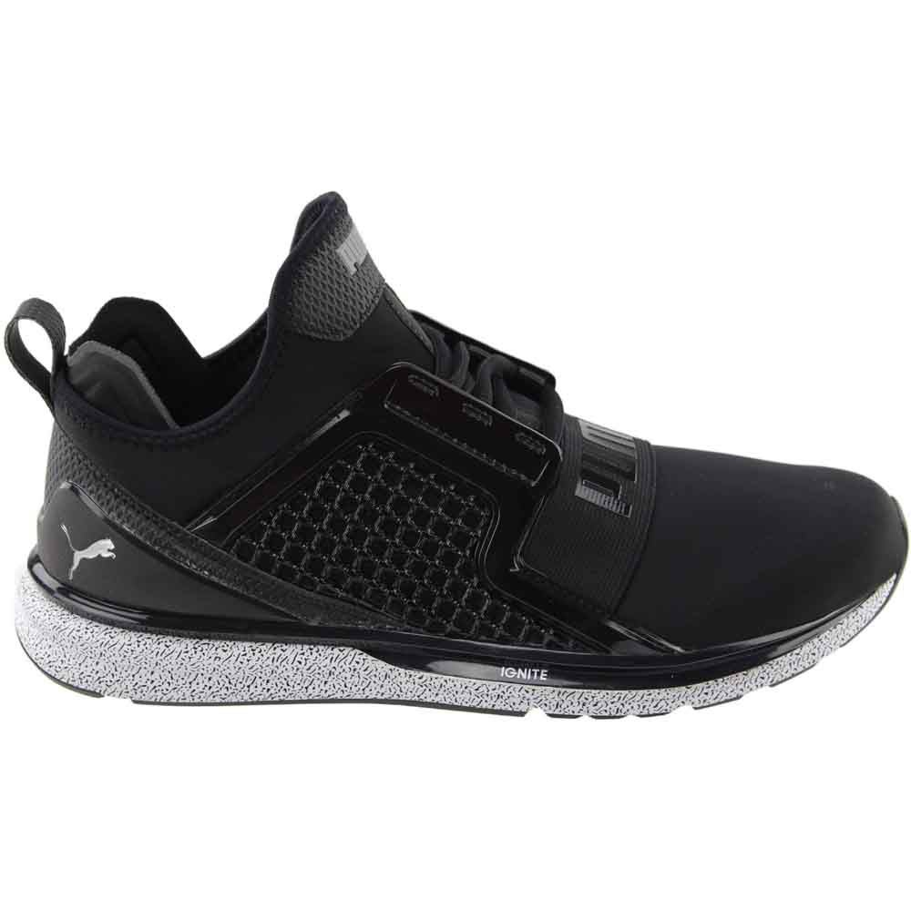Puma IGNITE LIMITLESS SPLATTER Black - Mens - Size 8.5