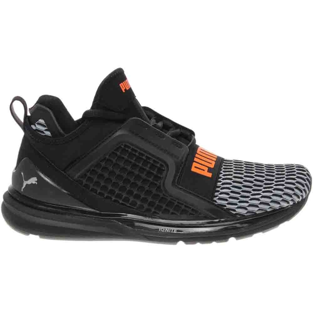 Puma IGNITE LIMITLESS COLORBLOCK Black - Mens  - Size 8.5