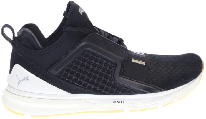 00211444aaba Puma Ignite Limitless Reptile Black Cross Trainer Shoes and get free ...
