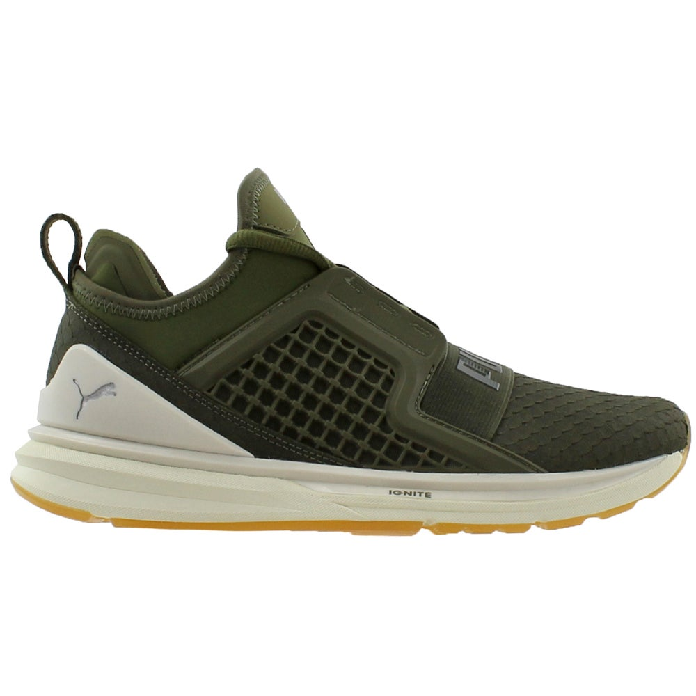 017ad101500b Details about Puma Ignite Limitless Reptile Sneakers - Green - Mens