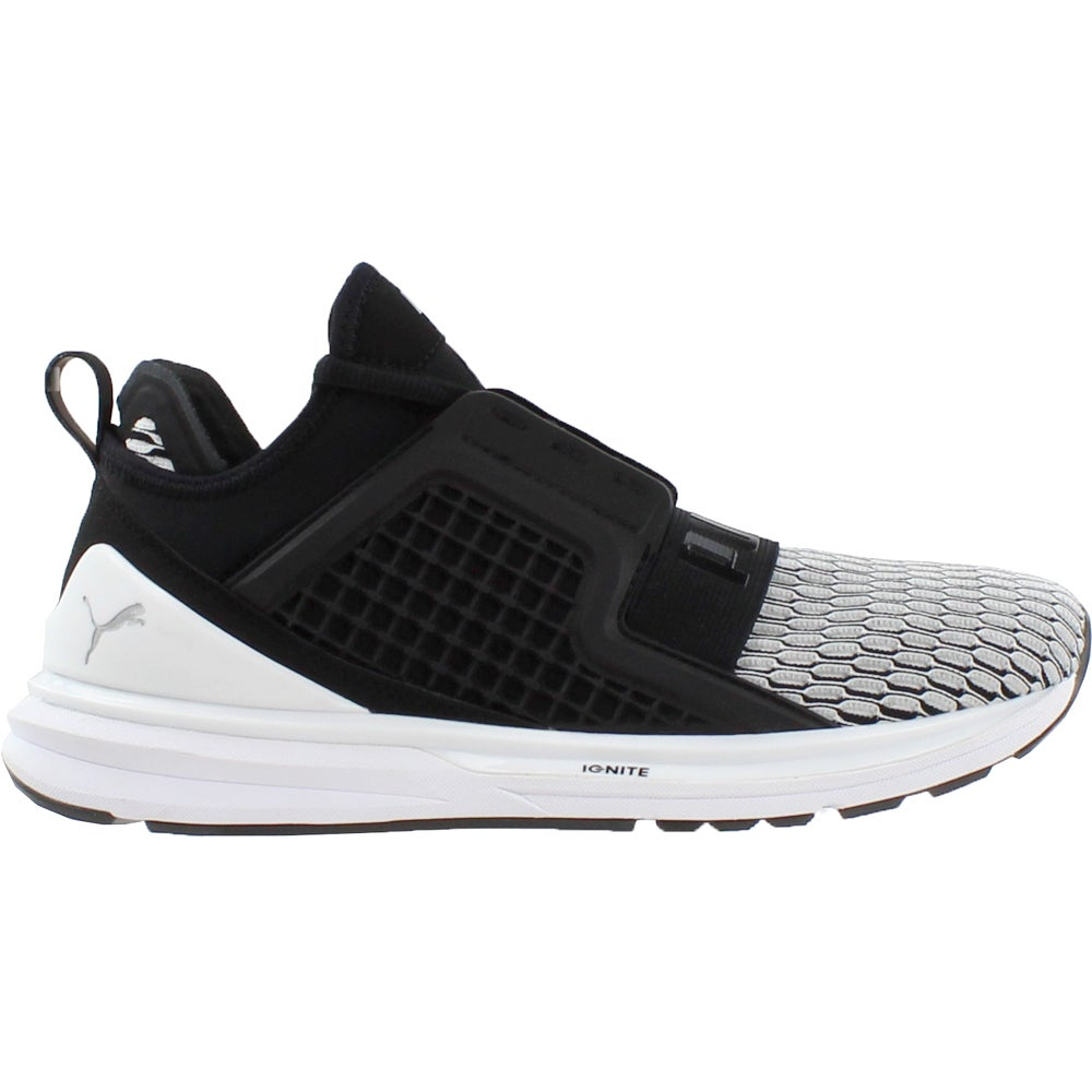 c15bb81b205 Details about Puma Ignite Limitless Colorblock Running Shoes - Black -  Womens