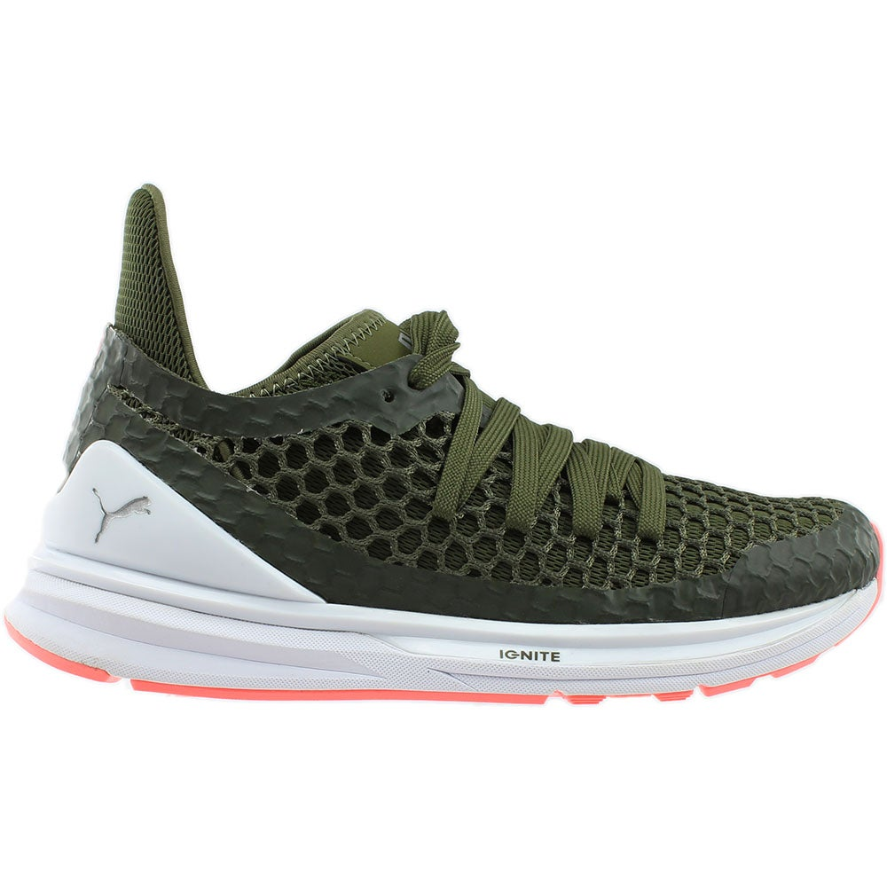 2c9d8b140fbb Details about Puma Ignite Limitless Netfit Running Shoes - Green - Womens