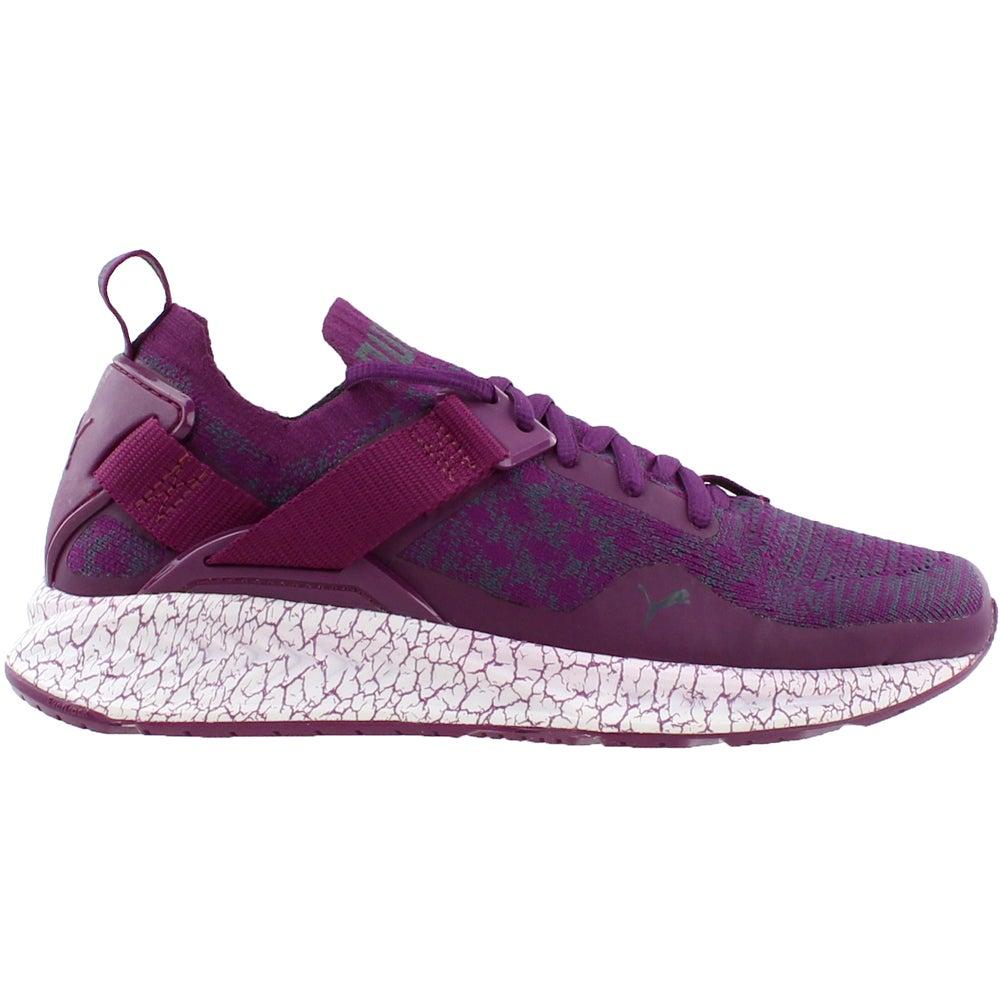 d1435a613a2e Puma Ignite Evoknit Low Hypernature Running Shoes - Purple - Womens ...