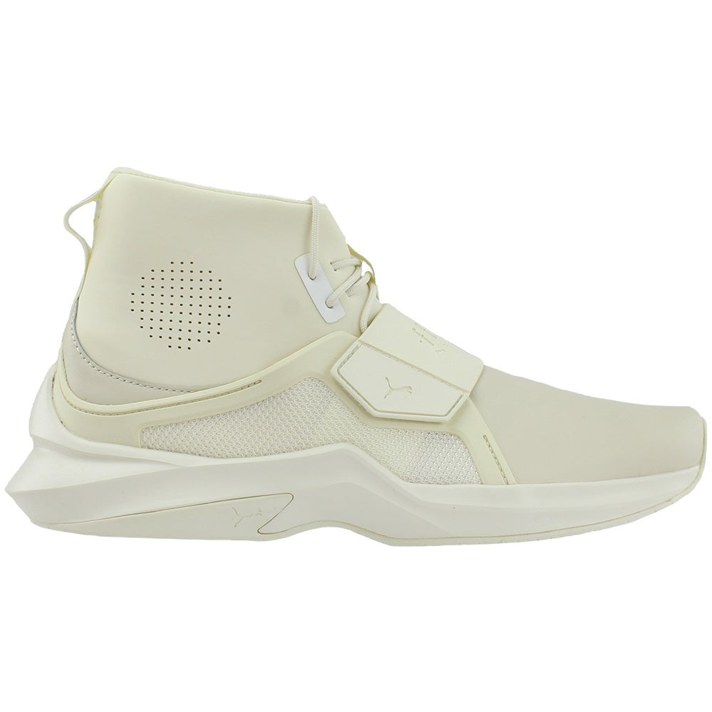 the latest 050e9 47f56 Details about Puma Fenty by Rihanna The Trainer High Casual Sneakers White  - Womens - Size