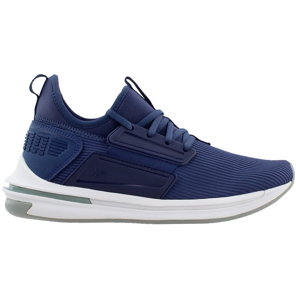 d75bab02474ac8 Details about Puma Ignite Limitless Street Runner Running Shoes - Navy -  Mens